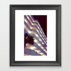 Curves in all the right places Framed Art Print