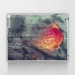 Flaming Leaf Laptop & iPad Skin