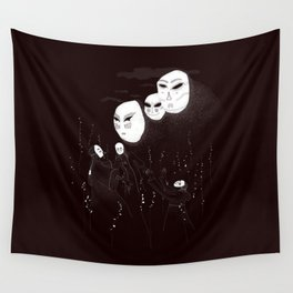 A summon in the night Wall Tapestry