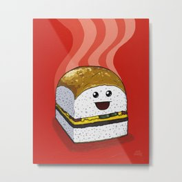 Dinner for One Metal Print