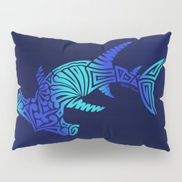Ombre Blues Hammerhead Pillow Sham
