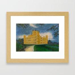 Downton Abbey – Highclere Castle Framed Art Print