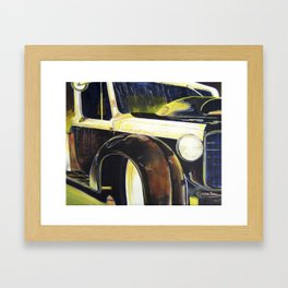 Just the 2 of Us.  Vintage Chevy Framed Art Print