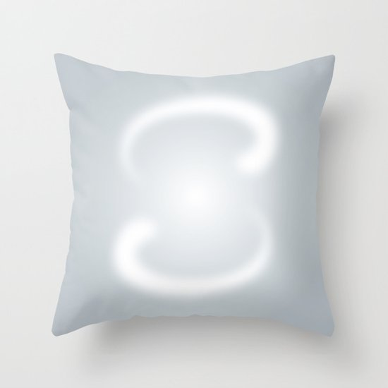 S like S Throw Pillow