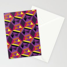 Chasing purple Stationery Cards