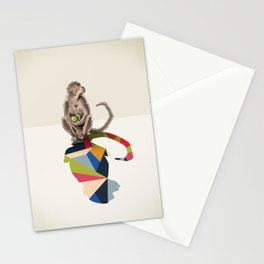 Walking Shadow, Monkey Stationery Cards