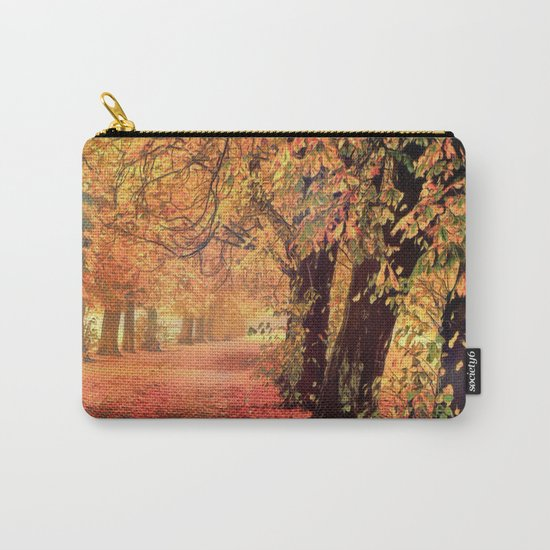 Autumn - the leaves are falling Carry-All Pouch