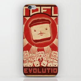 Tofu Revolution iPhone Skin