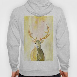 Colorful Golden Stag Hoody