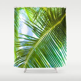 Aloha Lāhainā Palms Maui Hawaii Shower Curtain