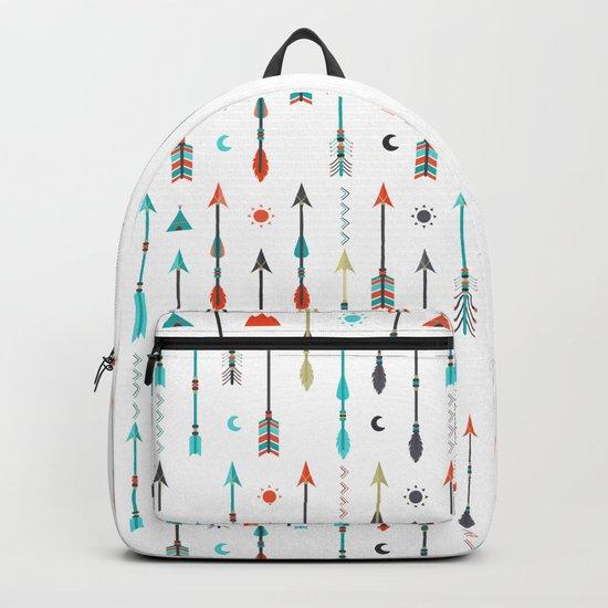 AFE Tribal Inspired Arrows Backpack
