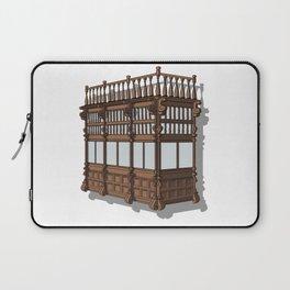 Colonial Balcony - Balcon colonial Laptop Sleeve