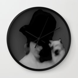 The Greeting 2 Wall Clock