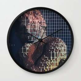 spartacus in voxel Wall Clock