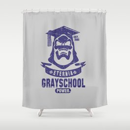 The GraySchool Power II Shower Curtain