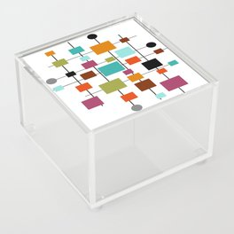 Mid-Century Modern Art 1.3.1 Acrylic Box