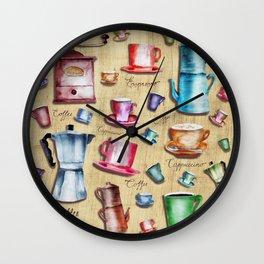 Coffee time! 2.0 Wall Clock
