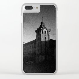 Yangon Train Station Clear iPhone Case