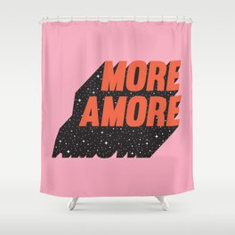 More Amore Shower Curtain