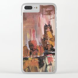 Urban life Clear iPhone Case