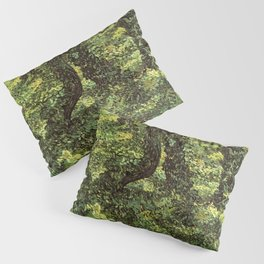 Trunks of Trees with Ivy Vincent van Gogh Pillow Sham