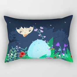 Is it a pixie or a dragon ? Rectangular Pillow