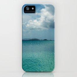 Caribbean Sea View iPhone Case