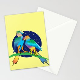 Talking To The Stars Stationery Cards