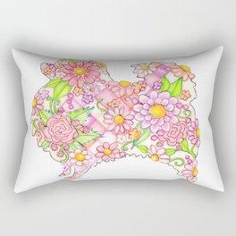 Pink Pomeranian Rectangular Pillow