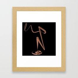 Letter Series: N Framed Art Print