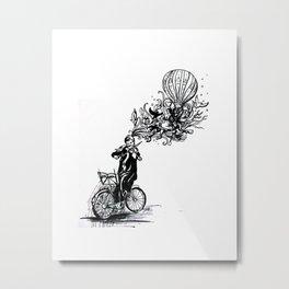 Dream Violin Metal Print