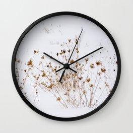 Winter Meadow Wall Clock