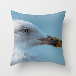 Shorebird in close-up Throw Pillow