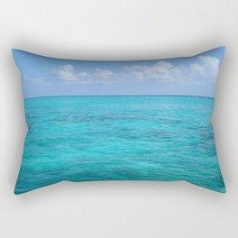 Caribbean Blues Rectangular Pillow