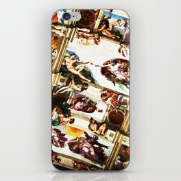 the creation. of a master piece. iPhone Skin