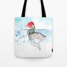 Mermaid - watercolor version Tote Bag