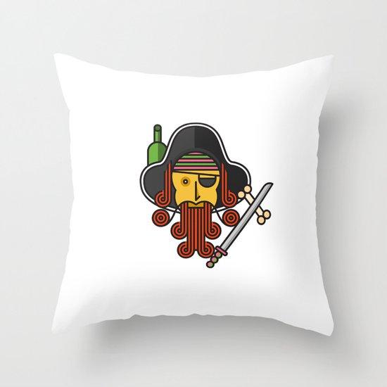 Arrrrr Throw Pillow