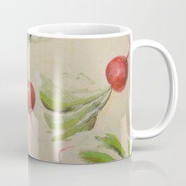 Flying Italian Radishes Coffee Mug