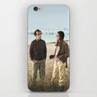 annie hall iPhone & iPod Skins featuring ANNIE HALL by VAGABOND