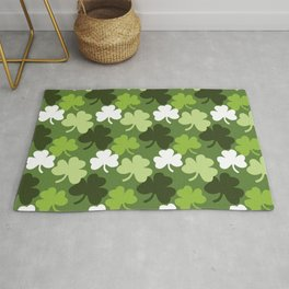 A Field of Clovers Rug
