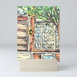 Boston Bay Window Mini Art Print