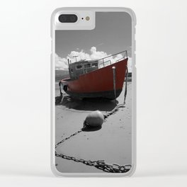Boat on the Beach | Photography Clear iPhone Case