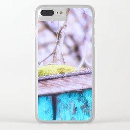 A Little Moss Clear iPhone Case