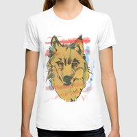 howl T-shirts featuring HOWL by Galvanise The Dog