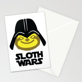 Sloth Wars Stationery Cards