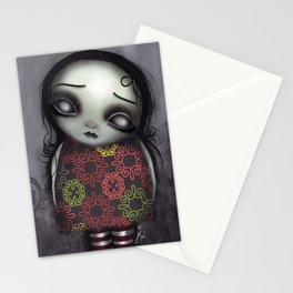 Zombie Girl Stationery Cards