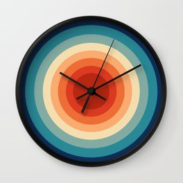 Concentric Circles #1 Wall Clock