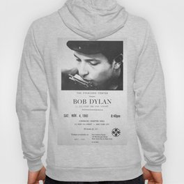 Bob Dylan Poster, 1961, First NY Concert Hoody