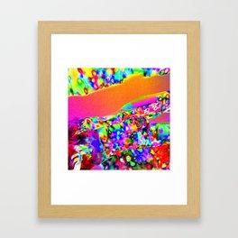 Lighting Experiment 23 Framed Art Print
