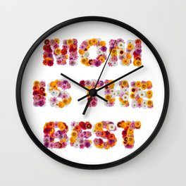 MOM is the BEST Wall Clock